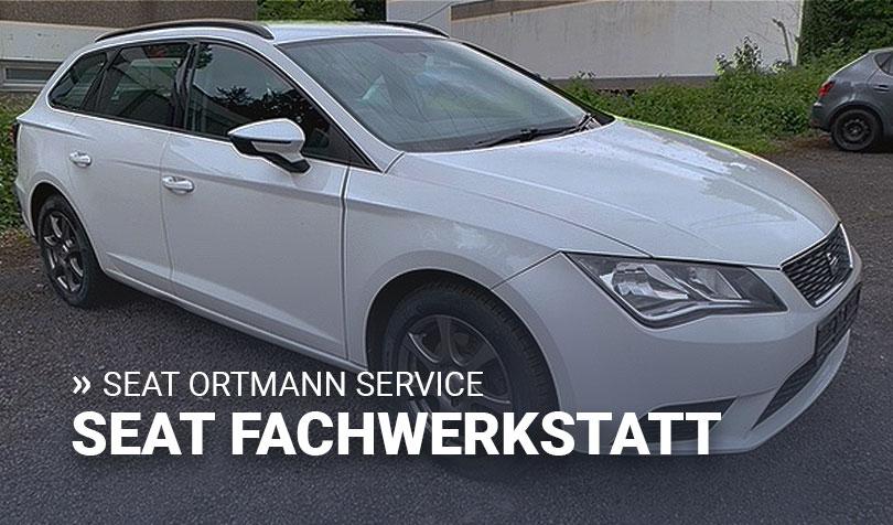 Seat Service von Ortmann Automobile in Witten